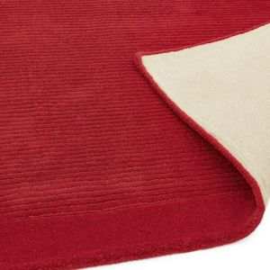 York Poppy Red Rug | Wool Rugs for Sale UK | Free Delivery
