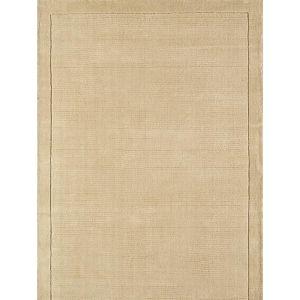 York Beige Rug 100% Wool - Free UK Delivery