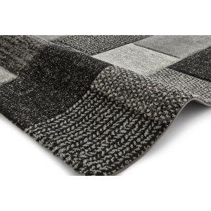 Brooklyn 21830 Rugs in Grey and Black