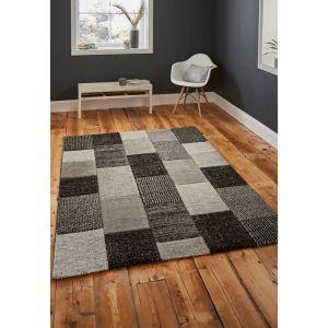 Brooklyn 21830 Grey/Black Rug