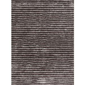 Felicia 200 Rugs in Grey - Felicia Plain Striped Shag Rugs by Arte Espina