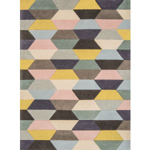 Funk Honeycomb Rug Pastel Wool