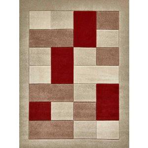 Matrix MT04 Beige/Red Rug