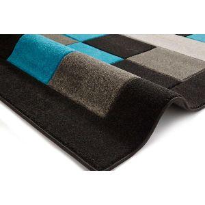 Matrix MT04 Black/Blue Rug