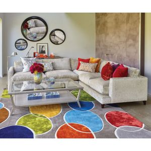 Nancy Rug in Multicoloured 200x300cm by William Yeoward