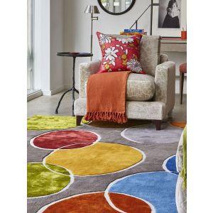Nancy Multicoloured Rug by William Yeoward