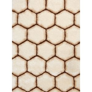 Noble House NH 30782 Rugs in Cream Brown by Think