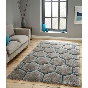 Noble House NH-30782 Rugs in Grey Blue by Think