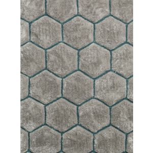 Noble House NH-30782 Rugs in Grey Blue, 120 x 170 cm