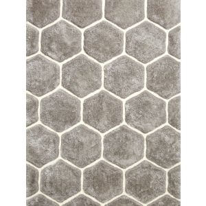 Noble House NH-30782 Grey White Rugs, 120 x 170 cm