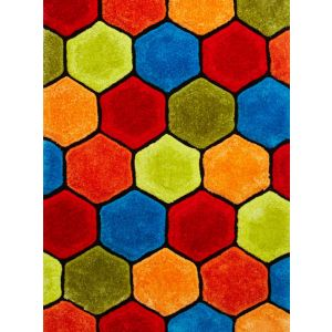 Noble House NH-30782 Multi Soft Rugs for Kids