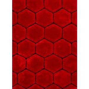 Noble House Red Rugs, NH-30782 Red/Black