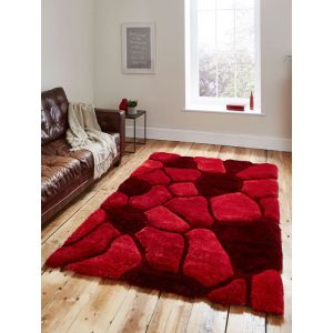 Noble House NH-5858 Rugs in Red