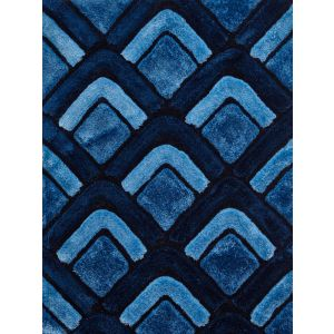 Noble House Rugs, NH-8199 Dark Blue Rug in 150 x 230 cm