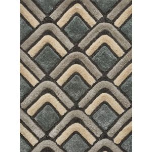 Noble House Rugs, NH-8199 Grey/Blue in 120 x 170 cm