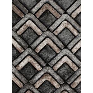 Noble House NH-8199 Grey Shaggy Rugs