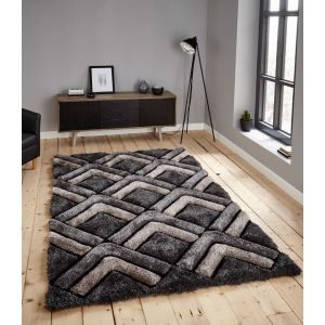 Noble House NH-8199 Grey Rugs by Think Rugs