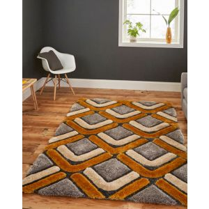 Noble House NH-8199 Grey/Yellow Rugs in 150 x 230 cm