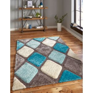 Noble House Rugs, NH-9247 in Grey/Blue