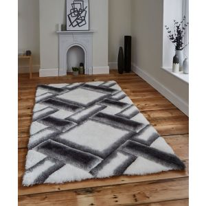 Noble House NH-9716 Grey/Ivory Rug by Think Rugs