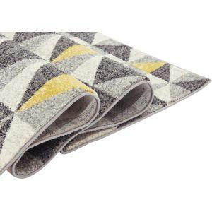 Buy Nova NV01 Flag Yellow Polypropylene Abstract Rug