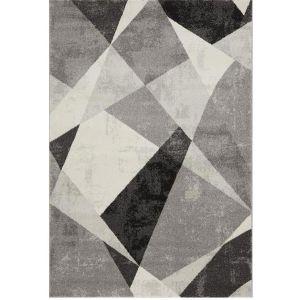 Nova NV02 Rug in Patio Grey - Abstract Rugs on Sale UK