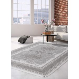 Pierre Cardin Charme Exclusive 310 Rugs in Silver for Living Rooms