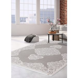 Pierre Cardin Charme Exclusive 210 Rug in Silver for Sale