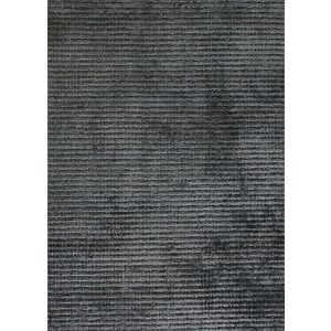 Reko Charcoal Rug (Plain Rugs for Sale) UK