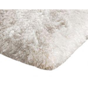 Shaggy White Area Rug