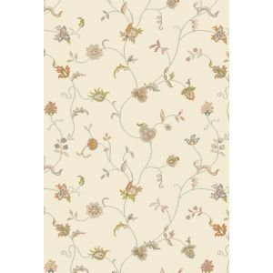 Xico Floral Rugs XI08 in Cream