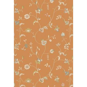 Xico Floral rugs XI09 in Rust