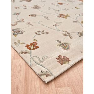 Xico Floral Rugs XI08 in Cream on Sale UK