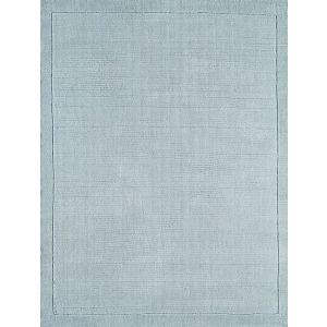York Duck Egg Blue Rug 100% Wool - Free UK Delivery