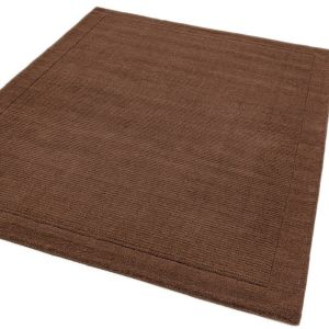 York Chocolate Brown Rug | Wool Rugs for Sale UK | Free Delivery