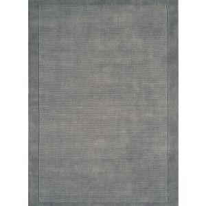 York Grey Rugs 100% Wool Rectangle Rugs
