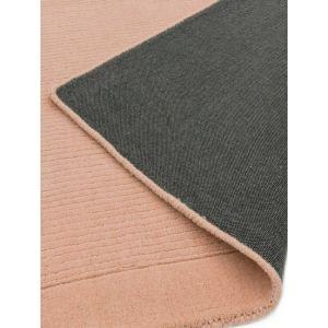 York Plain Pink Rugs Online | Pure Woollen Pile
