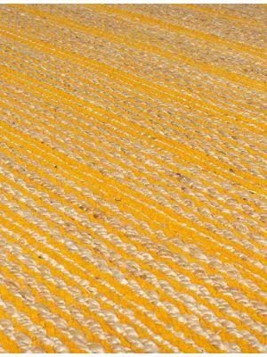 Adama Jute Ochre Runner Rugs by Flair