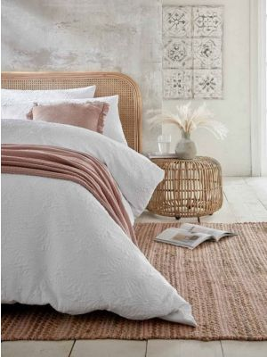 Adama Chenille Equinox Jute Blush Pink Contemporary Rug by Flair