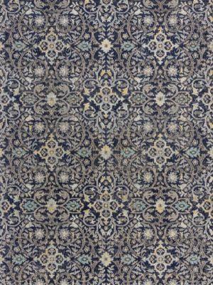 Manor Daphne Blue Flatweave Patio Rug by Flair
