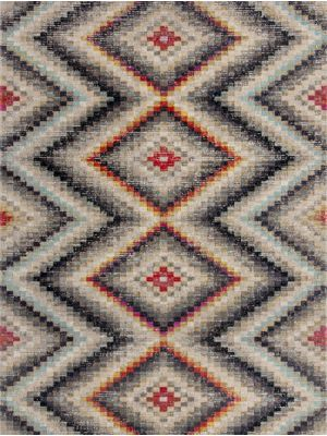 Manor Frances Multi Geometric Rug by Flair