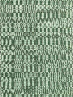 Sloan Green Wool Rug by Asiatic